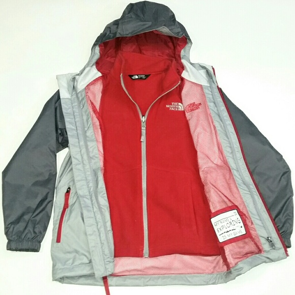 7c476268f The North Face Tri Climate Jacket, Boys Small 7/8 NWT